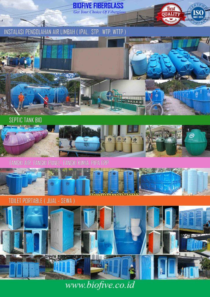 harga biofilter, Ipal biofilter, Septic Tank biofilter, Media biofilter, biofilter anaerob aerob